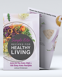 Simple Keto - Soft Cover Book Mock-Up co