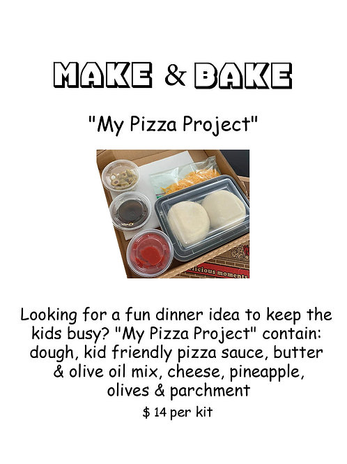 My Pizza Project