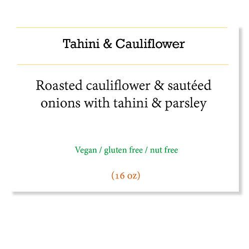Tahini cauliflower