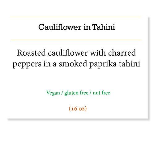 Tahini & Cauliflower