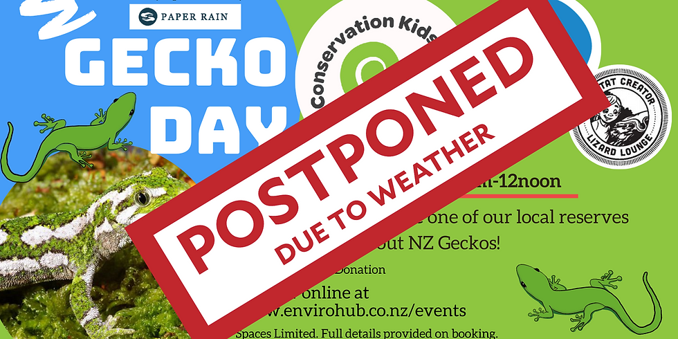 Gecko Day - School Holiday Event