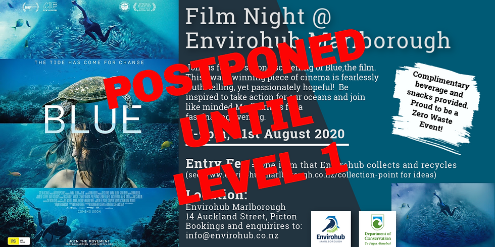 Blue-The Film, Join Us for Conservation Week!