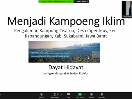 Seri Lokakarya Pengembangan Kampung Berkelanjutan: Berbagi Pengalaman Kampung Iklim & Kampung Hijau