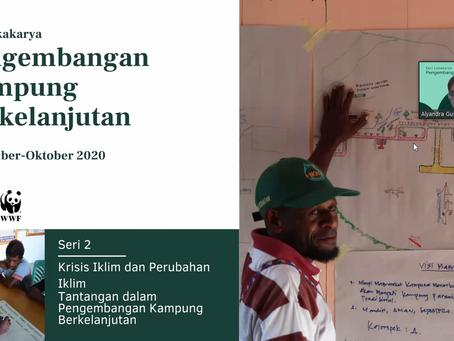 Seri Lokakarya Pengembangan Kampung Berkelanjutan: Perubahan Iklim dan Pembangunan