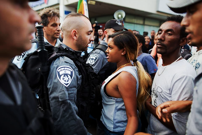 Israelites Stand Up to Police Brutality in Israel