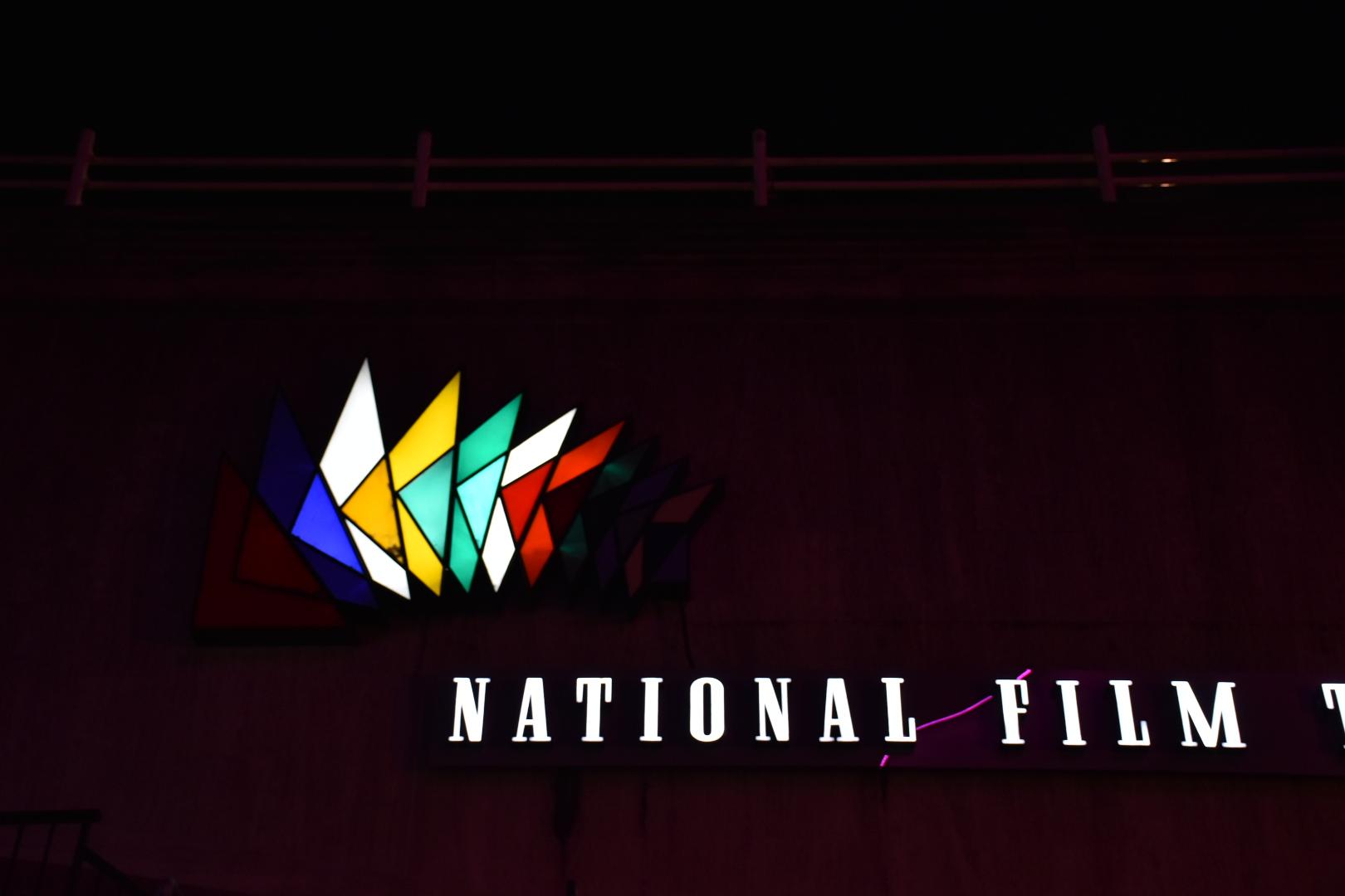 National Film Theatre Sign Lambeth