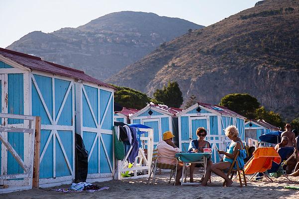 sicily - palermo - mondello beach - travel-report.nl