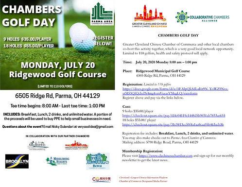 Multiple Chamber Golf Day