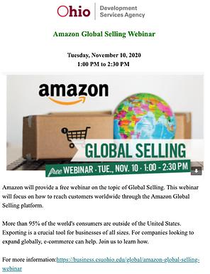 Amazon Global Selling Webinar