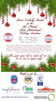 8th Annual Joint International Holiday Luncheon
