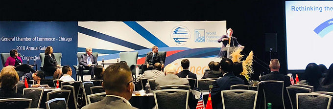 """2018 Annual Gala China General Chamber of Commerce - Chicago """"Connection"""""""