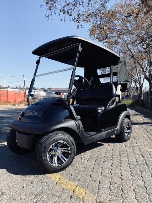 Black Club Car