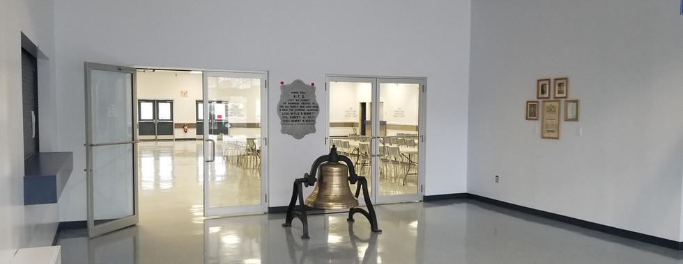 Lobby looking into hall