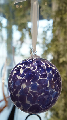 Ornaments With Colored Dots