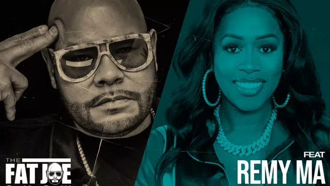 [Revolt] Remy Ma and Fat Joe joke about funny moment when Meek Mill's flexing went wrong