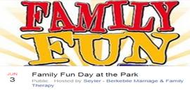 Family Fun Day June 3, 2018