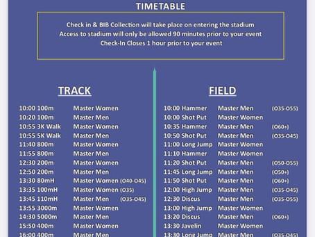 Irish Life Health Master Track and Field Championships.