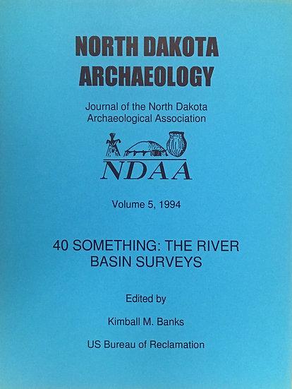 North Dakota Archaeology, Volume 5 (1994)