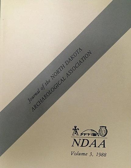 North Dakota Archaeology, Volume 3 (1988)