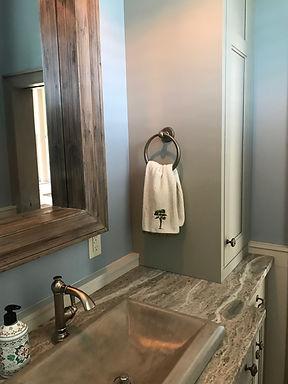 Bath Vanity Towel Bar and Ring