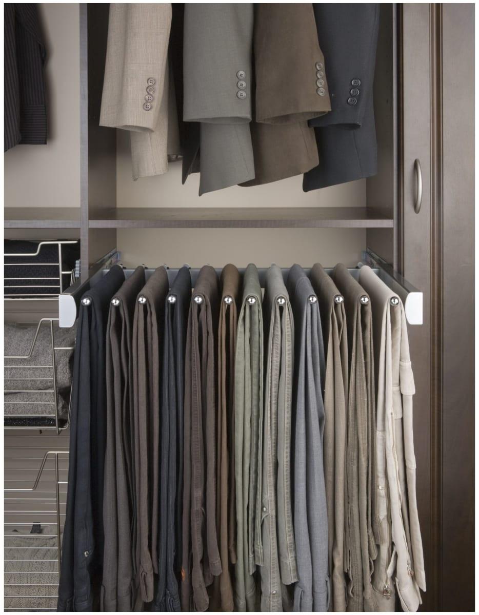 Pant Rack in Closet