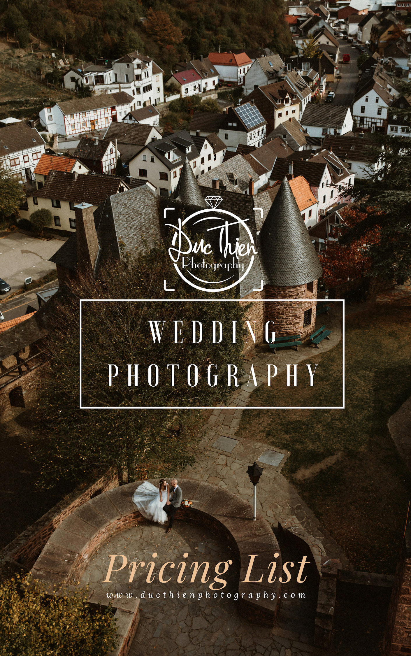 WEDDING PHOTOGRAPHY in EUROPE