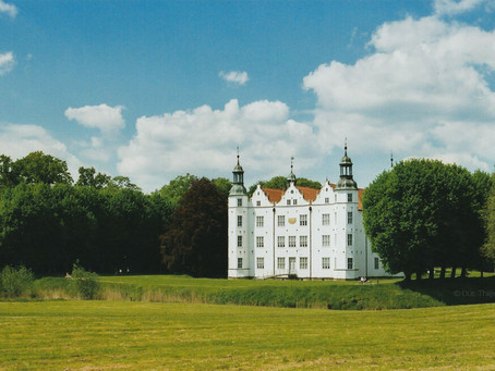 Ahrensburg Castle and Analog Camera