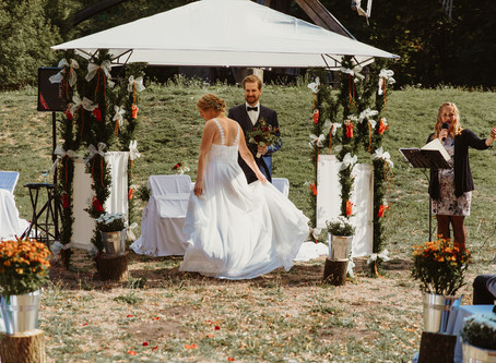Hannover unforgettable rustic wedding ceremony