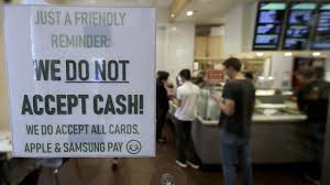 Refuse to pay by card