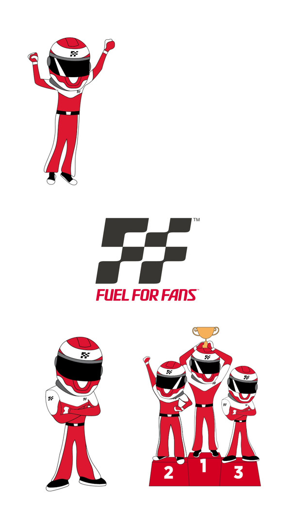 Fuel For Fans Stickers
