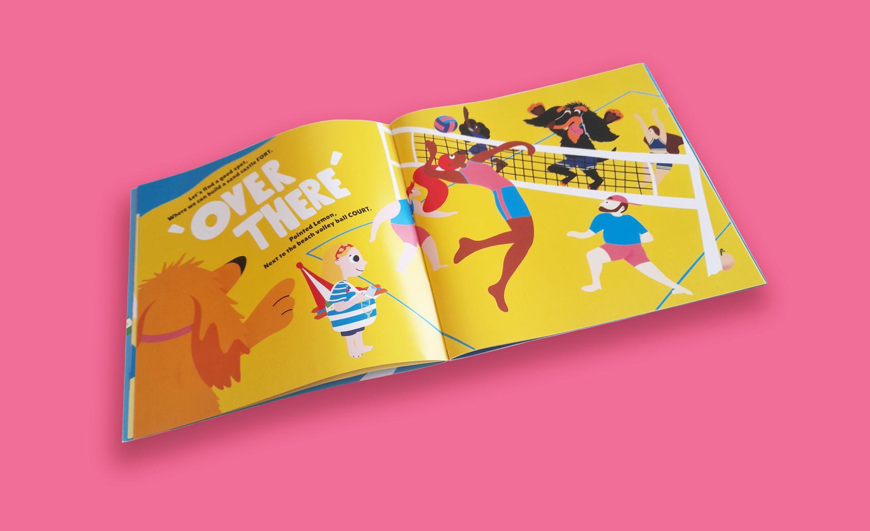 Let, Lemon & Fiver Children's book Page 6