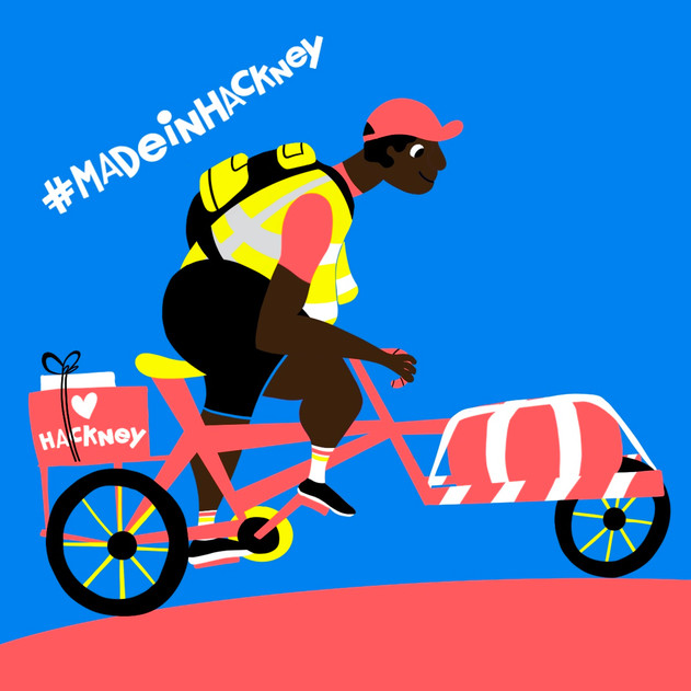 Hackney charity courier