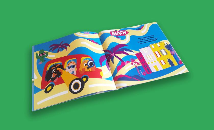 Let, Lemon & Fiver Children's book Page 3