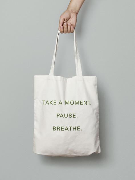 Kyushi Tote Bag Back