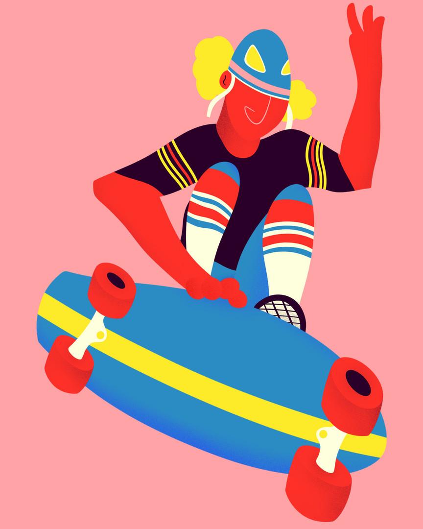 Rider Illustration