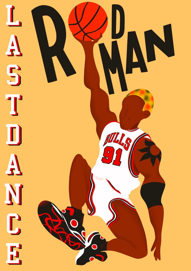Dennis Rodman The Last Dance
