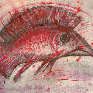 Red Bird Fish
