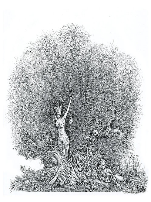 Tortured Woman Tree