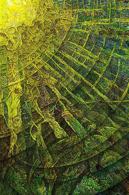 Mayan Awakening,  print