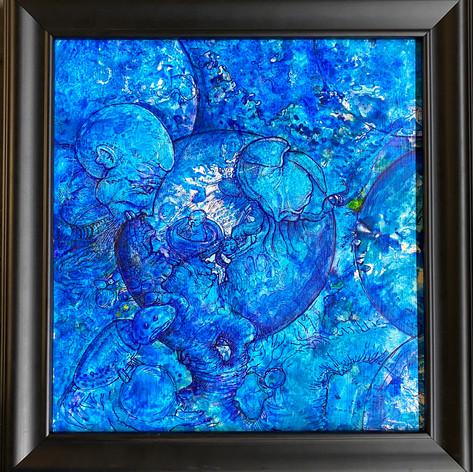 Peering into blueness