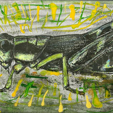 Pychic grasshopper