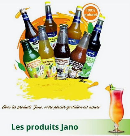 Les produits Jano