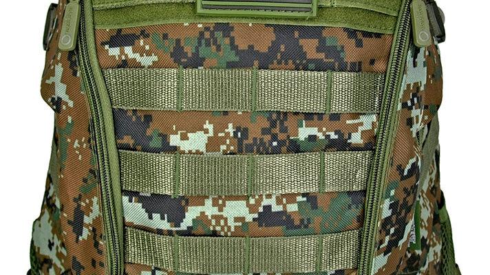 Green Digital Camo Backpack