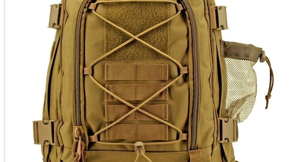 Desert Tan Expandable Tactical Backback