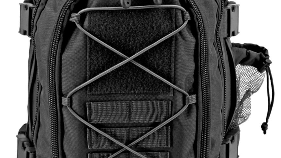 Expandable Tactical Elite Backpack - Black