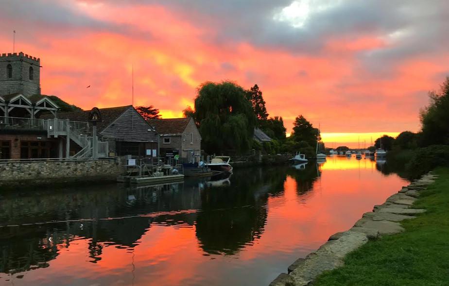 Sunrise at Wareham Quay