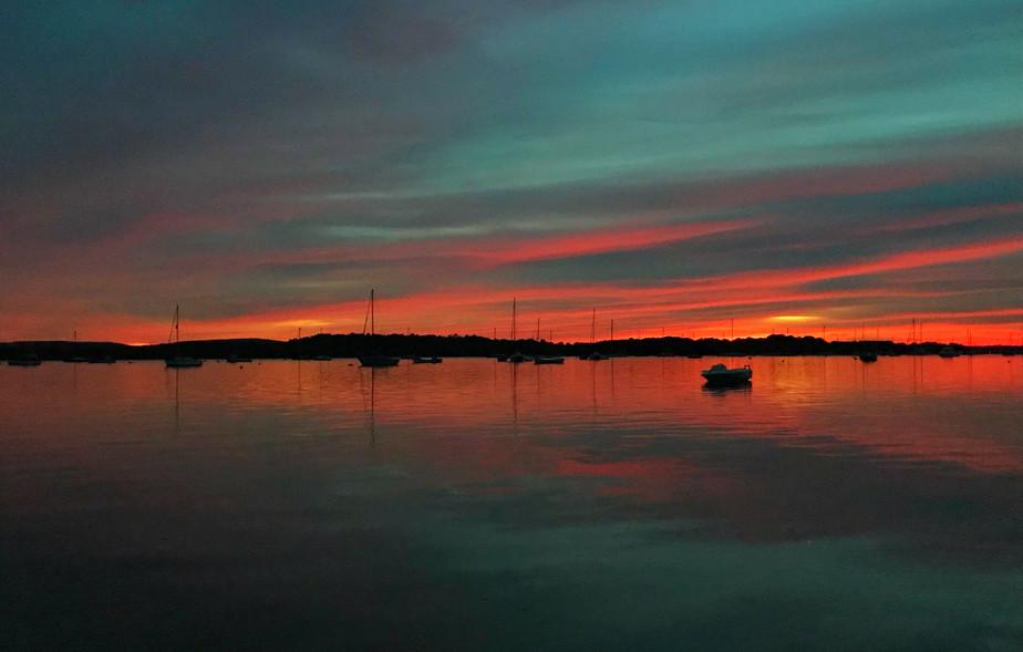 Lake Pier, Hamworthy Sunset