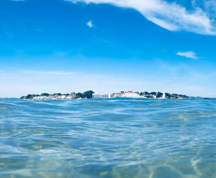Sandbanks from the Sea