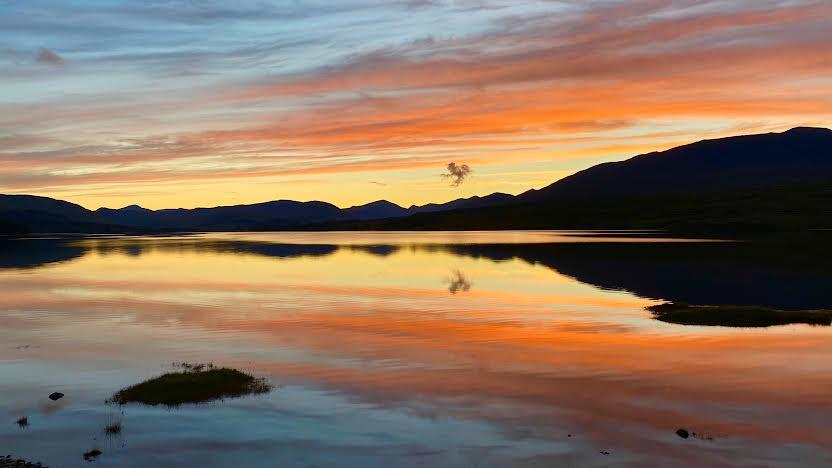 Sunset at Mull, Scotland