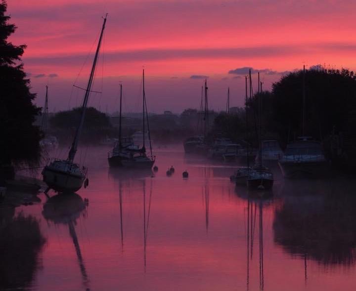 Wareham River Sunrise